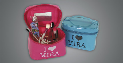 BEAUTY CASE IN PVC COLORATO